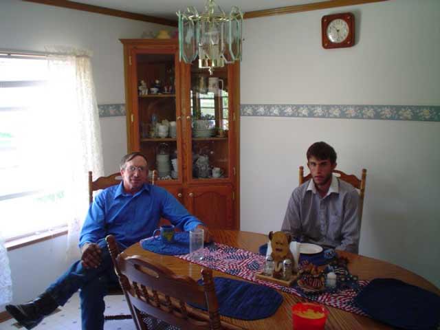 cousins Jim and Carson Carslile
