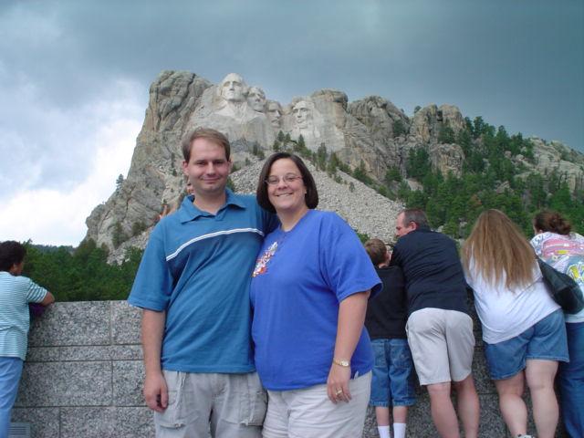 Joe and Laura at Mt. Rushmore
