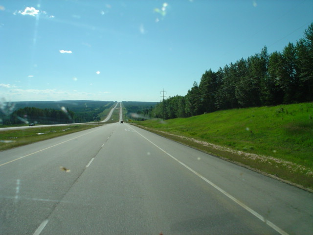 Alberta route 43 near Fox River