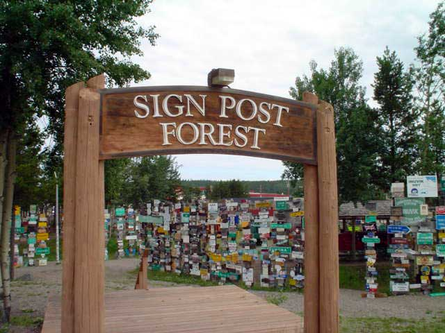 Sign Forest, Watson Lake