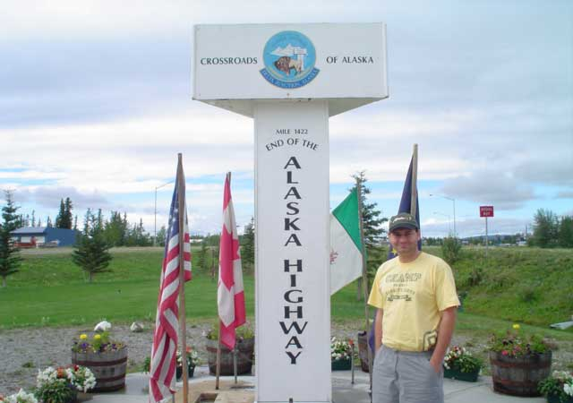 We made it to the end of the Alaska Highway. (Delta Junction, AK)