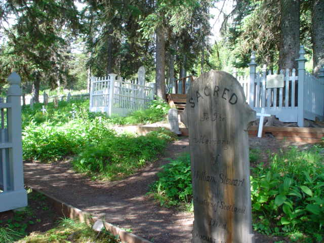 Barkerville Cemetary (near the campground)