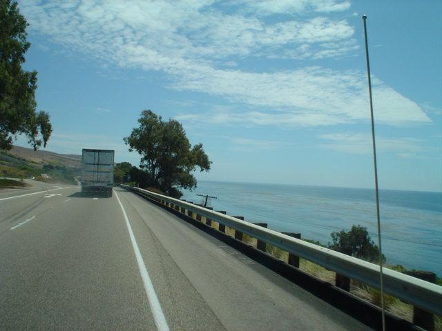 along US 101