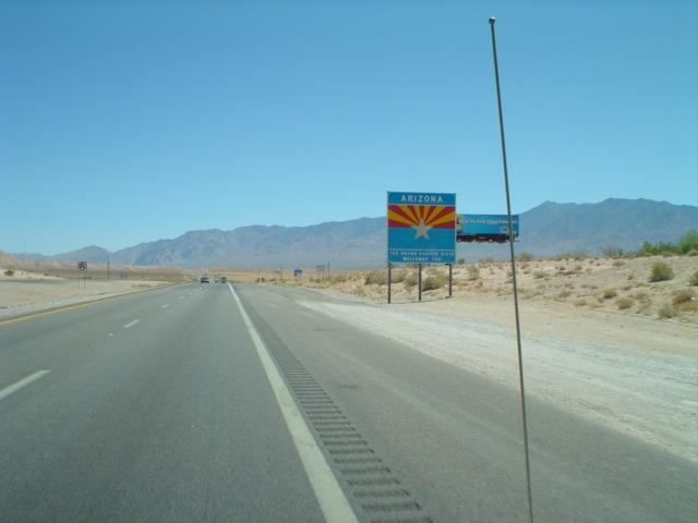 Welcome to Arizona!  temperature 100+