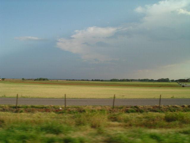 typical landscape in north Texas