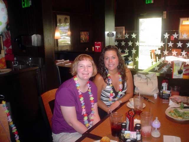 Aunt Jenn and Jennifer