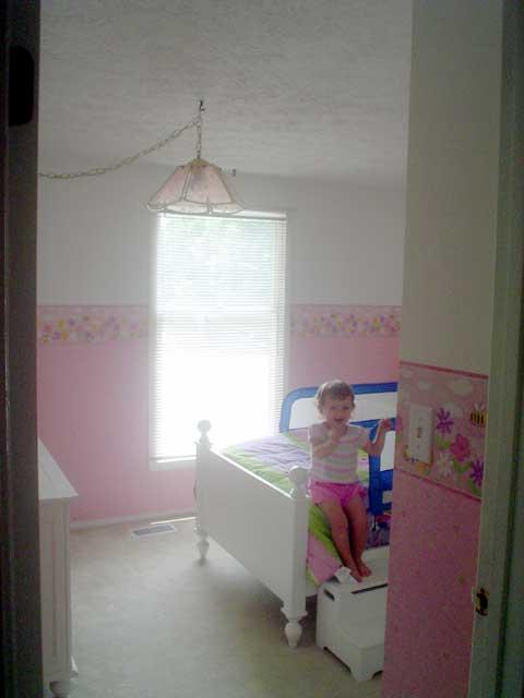 Elise's new bedroom