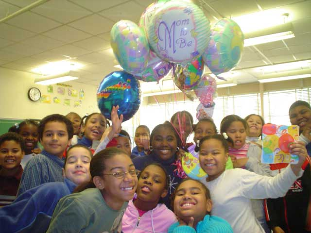 Baby Shower at Bedford Elementary School