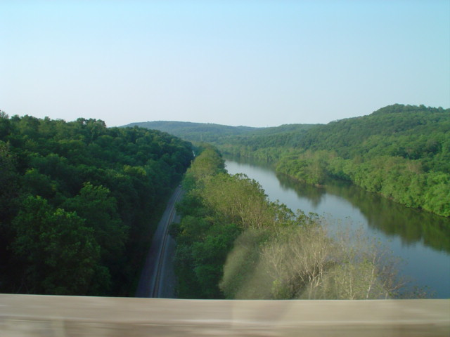 River crossing near Pittsburgh